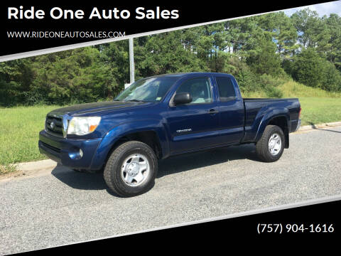 2007 Toyota Tacoma for sale at Ride One Auto Sales in Norfolk VA