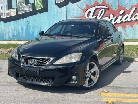 2013 Lexus IS 250 for sale at Palermo Motors in Hollywood FL