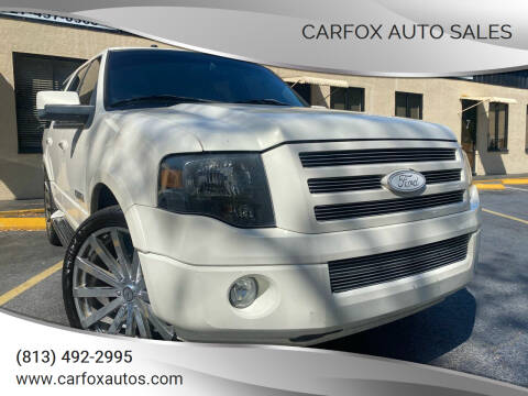 2008 Ford Expedition for sale at Carfox Auto Sales in Tampa FL