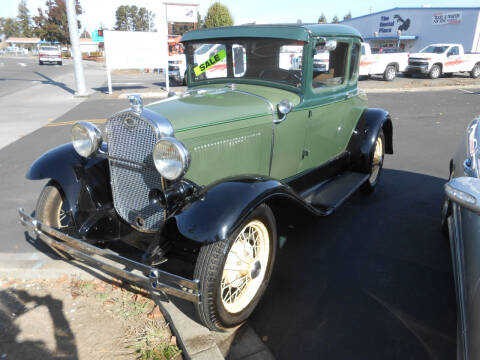 1931 Ford Model A for sale at Sutherlands Auto Center in Rohnert Park CA