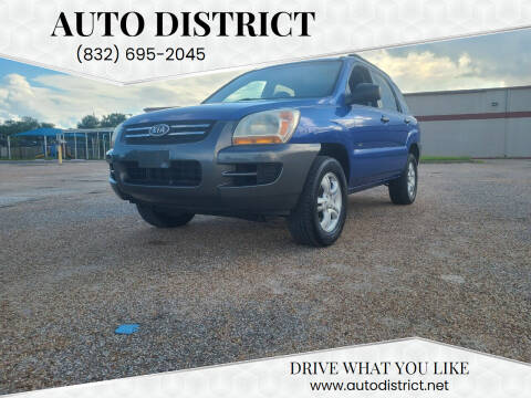2008 Kia Sportage for sale at Auto District in Baytown TX