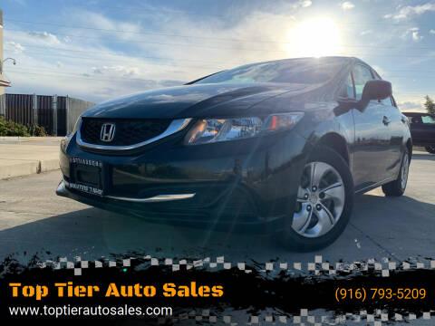 2013 Honda Civic for sale at Top Tier Auto Sales in Sacramento CA