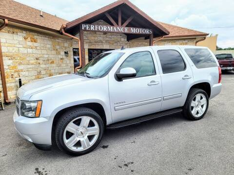 2014 Chevrolet Tahoe for sale at Performance Motors Killeen Second Chance in Killeen TX