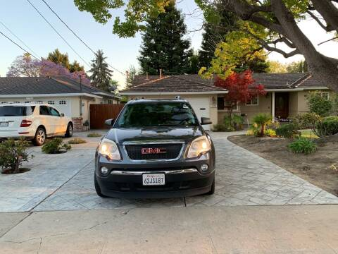 2011 GMC Acadia for sale at Blue Eagle Motors in Fremont CA