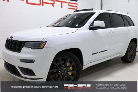 2018 Jeep Grand Cherokee for sale at Fishers Imports in Fishers IN