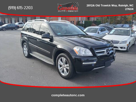 2012 Mercedes-Benz GL-Class for sale at Complete Auto Center , Inc in Raleigh NC