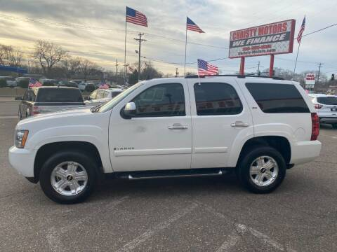 2008 Chevrolet Tahoe for sale at Christy Motors in Crystal MN