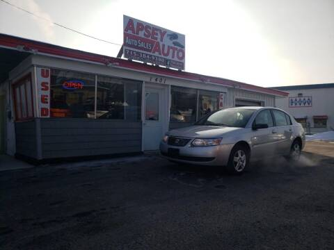 2007 Saturn Ion for sale at Apsey Auto 2 in Marshfield WI