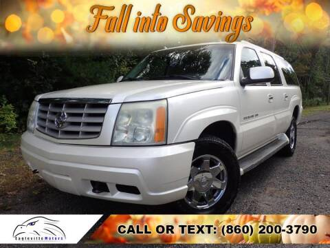 2005 Cadillac Escalade ESV for sale at EAGLEVILLE MOTORS LLC in Storrs Mansfield CT