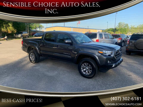 2017 Toyota Tacoma for sale at Sensible Choice Auto Sales, Inc. in Longwood FL