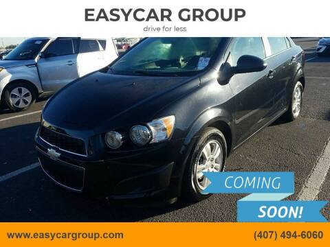 2015 Chevrolet Sonic for sale at EASYCAR GROUP in Orlando FL