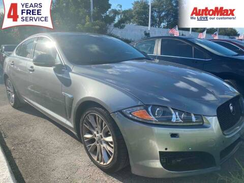 2013 Jaguar XF for sale at Auto Max in Hollywood FL