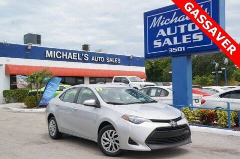 2017 Toyota Corolla for sale at Michael's Auto Sales Corp in Hollywood FL