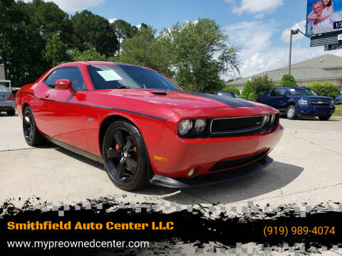 2011 Dodge Challenger for sale at Smithfield Auto Center LLC in Smithfield NC