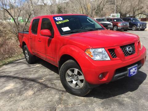 2011 Nissan Frontier for sale at 4X4 Auto in Cortez CO