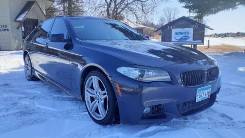 2012 BMW 5 Series for sale at Shores Auto in Lakeland Shores MN