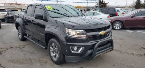 2015 Chevrolet Colorado for sale at I-80 Auto Sales in Hazel Crest IL