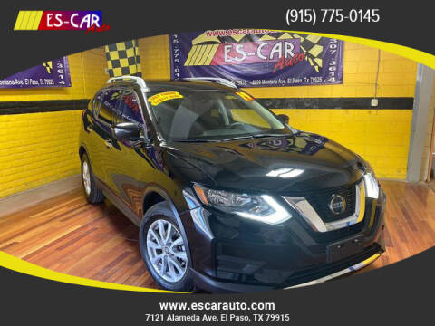 2019 Nissan Rogue for sale at Escar Auto - 9809 Montana Ave Lot in El Paso TX