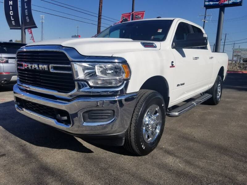 2019 RAM Ram Pickup 2500 for sale at ON THE MOVE INC in Boerne TX