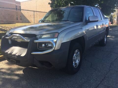 2003 Chevrolet Avalanche for sale at MFT Auction in Lodi NJ