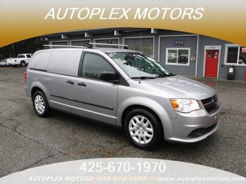 2014 RAM C/V for sale at Autoplex Motors in Lynnwood WA
