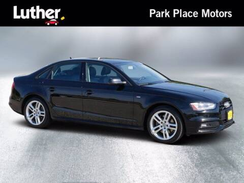 2016 Audi A4 for sale at Park Place Motor Cars in Rochester MN