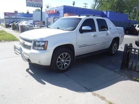 2013 Chevrolet Avalanche for sale at City Motors Auto Sale LLC in Redford MI