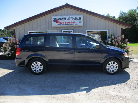 2014 Dodge Grand Caravan for sale at Granite Auto Sales in Redgranite WI