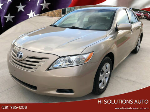2009 Toyota Camry for sale at HI SOLUTIONS AUTO in Houston TX