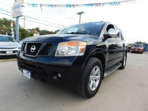 2012 Nissan Armada for sale at AMD AUTO in San Antonio TX