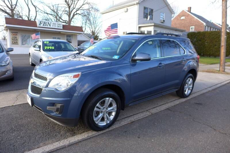 2011 Chevrolet Equinox for sale at FBN Auto Sales & Service in Highland Park NJ