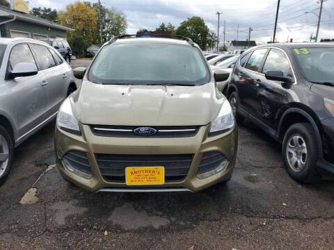 2014 Ford Escape for sale at Brothers Used Cars Inc in Sioux City IA