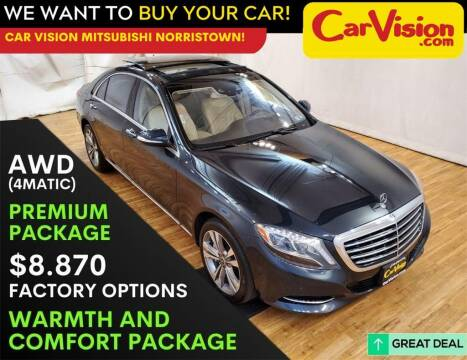 2017 Mercedes-Benz S-Class for sale at Car Vision Mitsubishi Norristown in Trooper PA