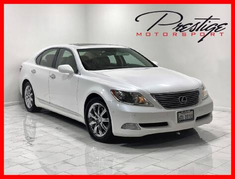 2008 Lexus LS 460 for sale at Prestige Motorsport in Rancho Cordova CA