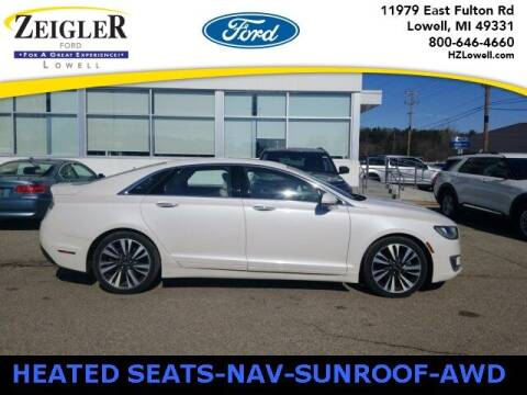 2018 Lincoln MKZ for sale at Zeigler Ford of Plainwell- Jeff Bishop in Plainwell MI
