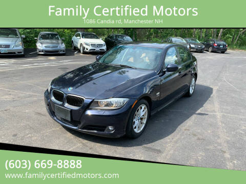 2010 BMW 3 Series for sale at Family Certified Motors in Manchester NH