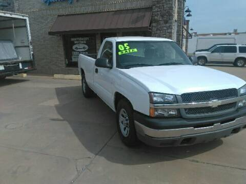 2005 Chevrolet Silverado 1500 for sale at NORTHWEST MOTORS in Enid OK