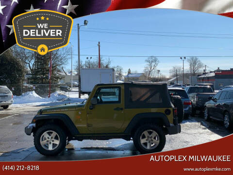 2008 Jeep Wrangler for sale at Autoplex 2 in Milwaukee WI