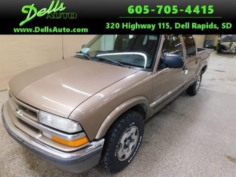2002 Chevrolet S-10 for sale at Dells Auto in Dell Rapids SD