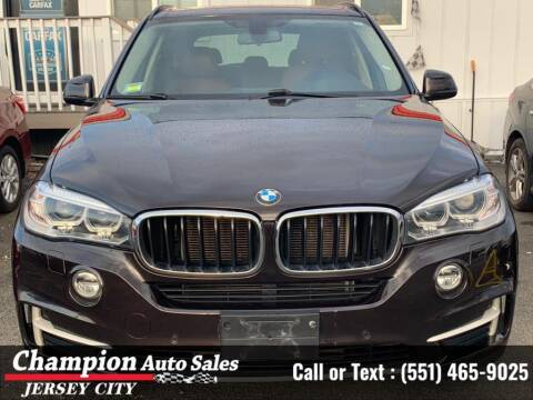 2015 BMW X5 for sale at CHAMPION AUTO SALES OF JERSEY CITY in Jersey City NJ
