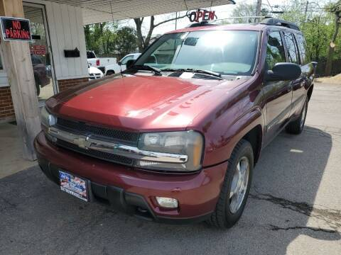 2004 Chevrolet TrailBlazer EXT for sale at New Wheels in Glendale Heights IL