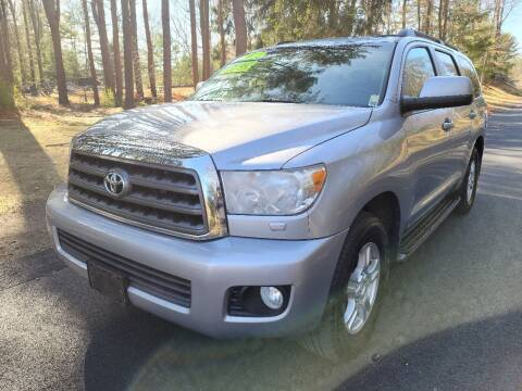 2011 Toyota Sequoia for sale at Showcase Auto & Truck in Swansea MA