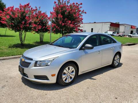 2012 Chevrolet Cruze for sale at DFW Autohaus in Dallas TX