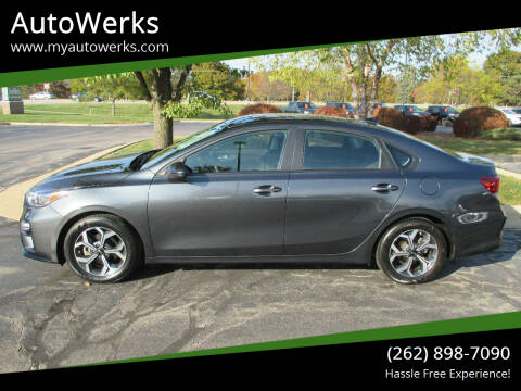 2019 Kia Forte for sale at AutoWerks in Sturtevant WI