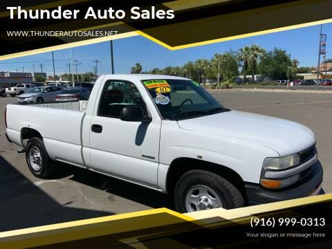 2002 Chevrolet Silverado 1500 for sale at Thunder Auto Sales in Sacramento CA