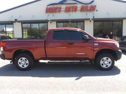 2010 Toyota Tundra for sale at DOUG'S AUTO SALES INC in Pleasant View TN