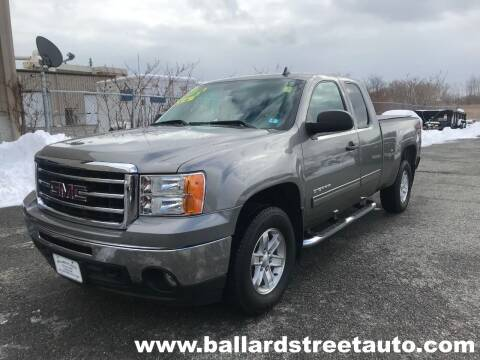 2013 GMC Sierra 1500 for sale at Ballard Street Auto in Saugus MA