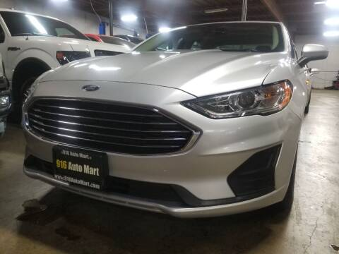 2019 Ford Fusion for sale at 916 Auto Mart ONLY $399 DOWN!!!* in Sacramento CA