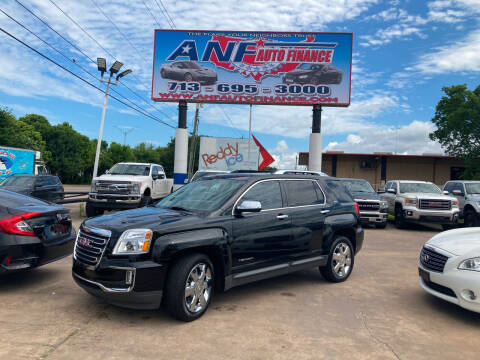 2016 GMC Terrain for sale at ANF AUTO FINANCE in Houston TX