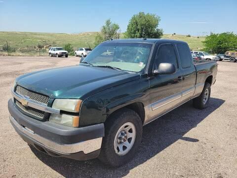 2003 Chevrolet Silverado 1500 for sale at PYRAMID MOTORS - Pueblo Lot in Pueblo CO